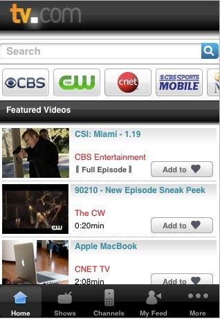 TVcom_iPhone_app