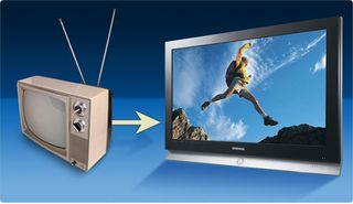 Tv-transition