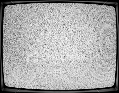 Blank Snowy TV