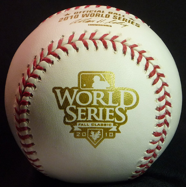 Rawlings-2010-World-Series-Baseball