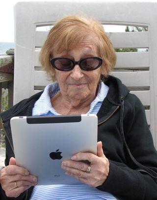 Aunt Bea ipad