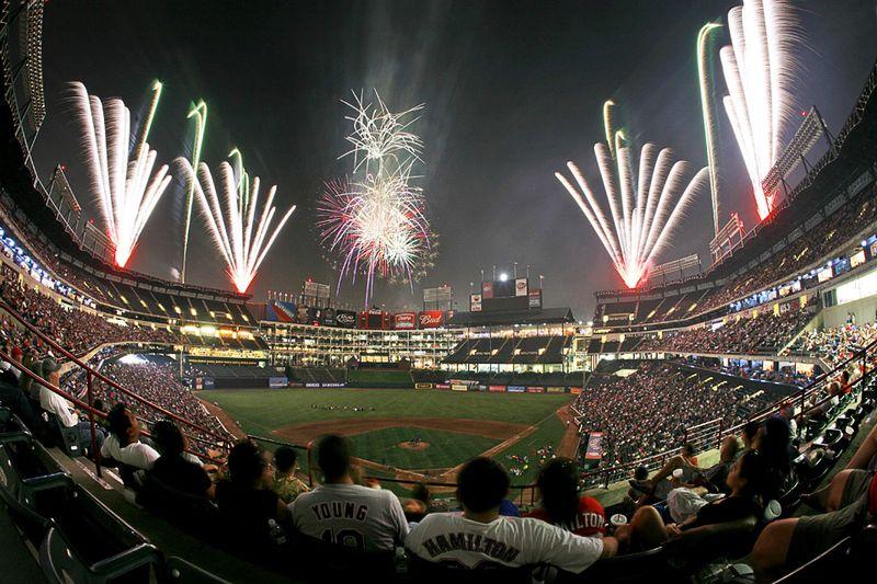 Ballpark fireworks